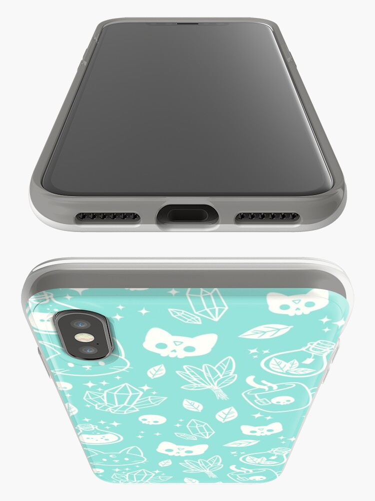 Alternate view of Herb Witch // Green Pastel iPhone Case & Cover