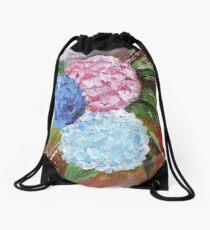 Hydrangeas in Acrylic Drawstring Bag