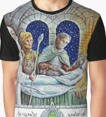 The Hands of the King Are the Hands of a Healer Graphic T-Shirt