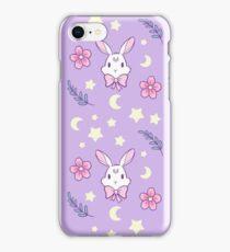 Sakura Bunny // Purple iPhone Case/Skin