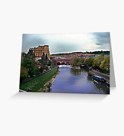 River Avon Greeting Card