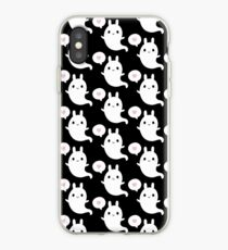Cutie Bunny Ghost iPhone Case