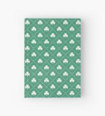 Shamrock On! - emerald Hardcover Journal