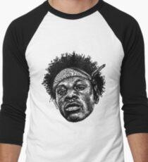 Scribbled BADMON Baseballshirt für Männer