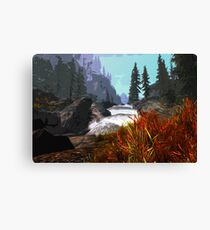 Panoramas of Autumn Canvas Print