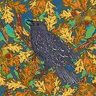 Raven and Oak by lottibrown