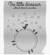 The little dinosaur Poster