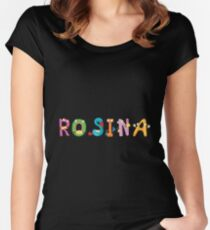 Rosina Women's Fitted Scoop T-Shirt