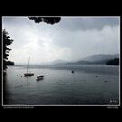 Late Summer Storm Over Newfound Lake Poster by Wayne King