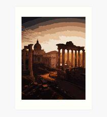 Rome, Twilight of the Gods Art Print