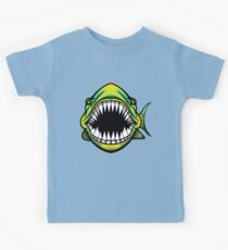 Angry Fish Design  Kids Clothes