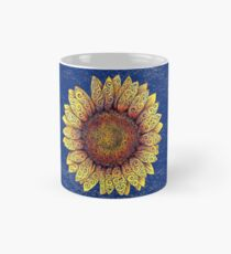 Swirly Sunflower Mug