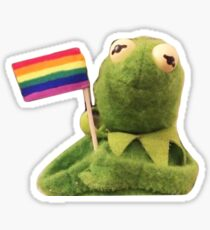 Pride Kermit Sticker
