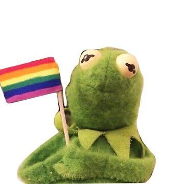 Pride Kermit by AngelaFV