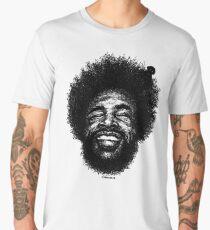 Scribbled Drummer  Männer Premium T-Shirts