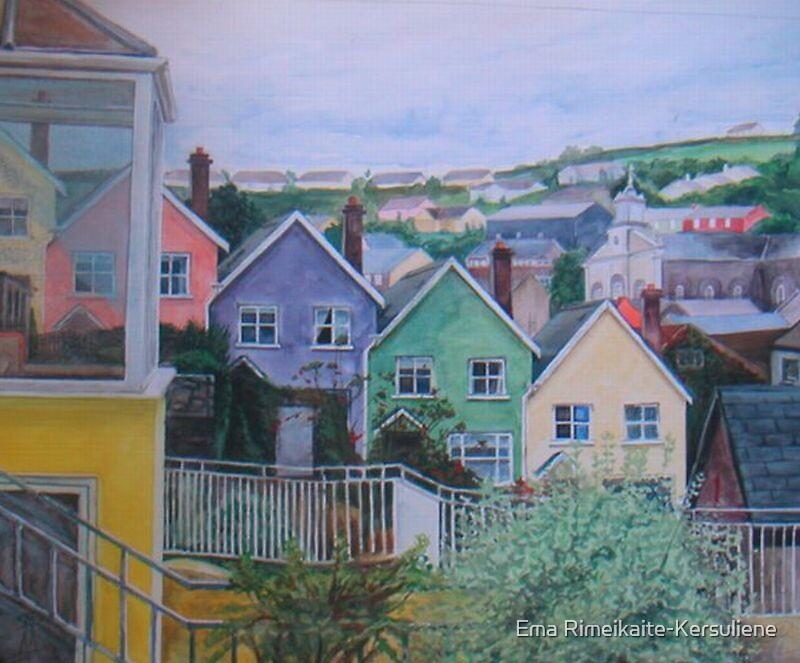 Kinsale, Co.Cork by Ema Rimeikaite-Kersuliene