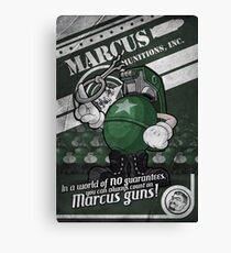 Borderlands Marcus Munitions, Inc Canvas Print
