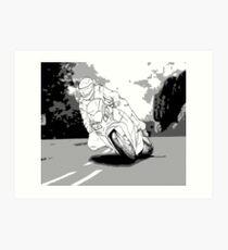 IOM TT Graphic Novel Art Print
