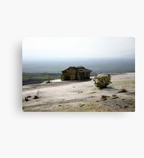 The Lone Tomb Canvas Print
