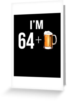 Funny 65th Birthday 65 Year Old Beer Lovers Gift