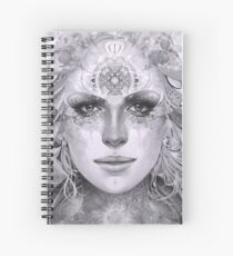 Gaia - B/W Spiral Notebook