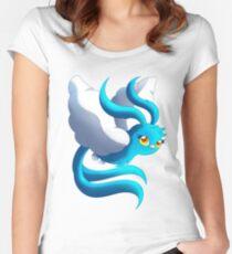 SN: Moose- BIO Design - Swablu Women's Fitted Scoop T-Shirt