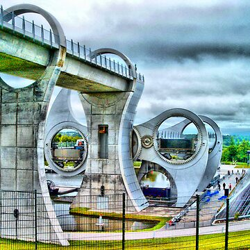 Falkirk Millenium Wheel by agurney