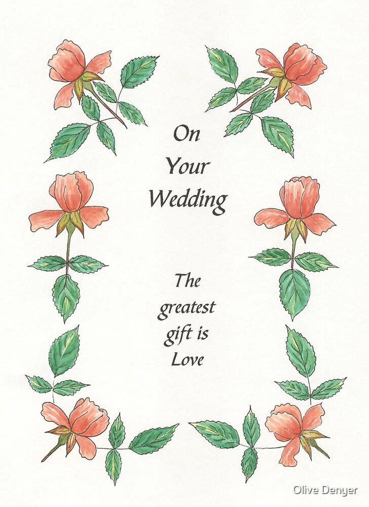 Wedding Card 1 by Olive Denyer