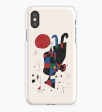 Dog in Front of The Sun iPhone Case/Skin