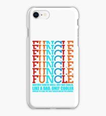 Vintage retro Awesome funcle teeshirts iPhone Case/Skin
