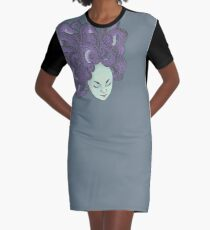 Medusa Graphic T-Shirt Dress