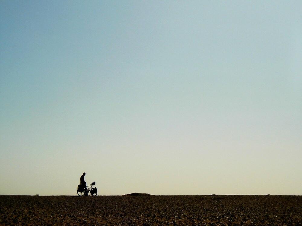 Skyline riding by Alastair Humphreys