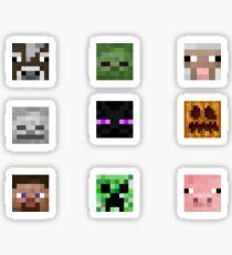 Minecraft Squad Sticker