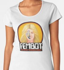 FEMBOT / DOLL TRIBUTE Women's Premium T-Shirt