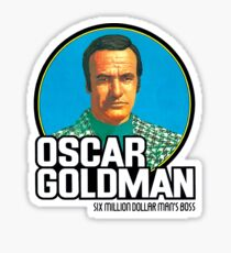 OSCAR GOLDMAN / TOY TRIBUTE Sticker