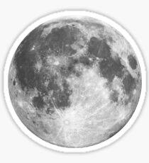 Full Moon Phase Sticker