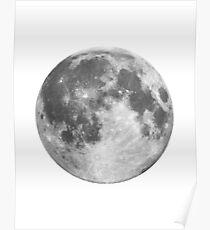 Full Moon Phase Poster