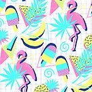 80s Flashback Tropical Fun by micklyn