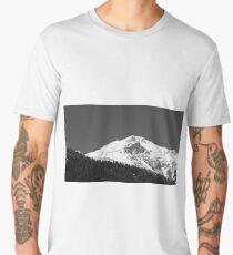 Austrian Alps mountain peak Men's Premium T-Shirt