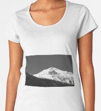 Austrian Alps mountain peak Women's Premium T-Shirt