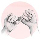 pinky swear // hand study by lauragraves