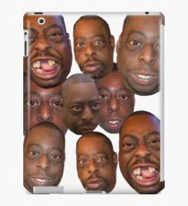 Beetlejuice Head Lester Green Stern Show iPad Case/Skin