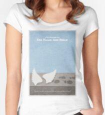 Der Himmel uber Berlin  Wings of Desire Women's Fitted Scoop T-Shirt
