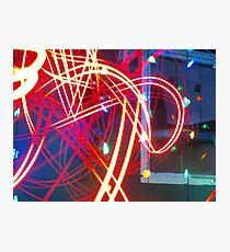 Light Lasers Photographic Print