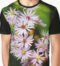 Lovely Calico Asters  Graphic T-Shirt