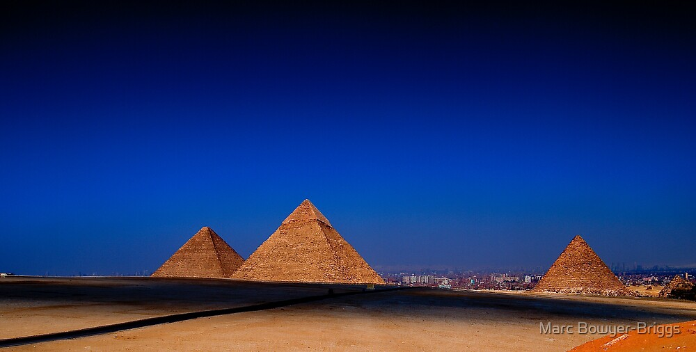 Pyramid Panorama by Marc Bowyer-Briggs