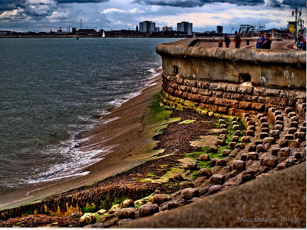 Sea Front - HDR by Marc Bowyer-Briggs