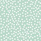 Cute Mint and White Polka Dots by itsjensworld