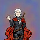 RED CAPE by dash-of-noir