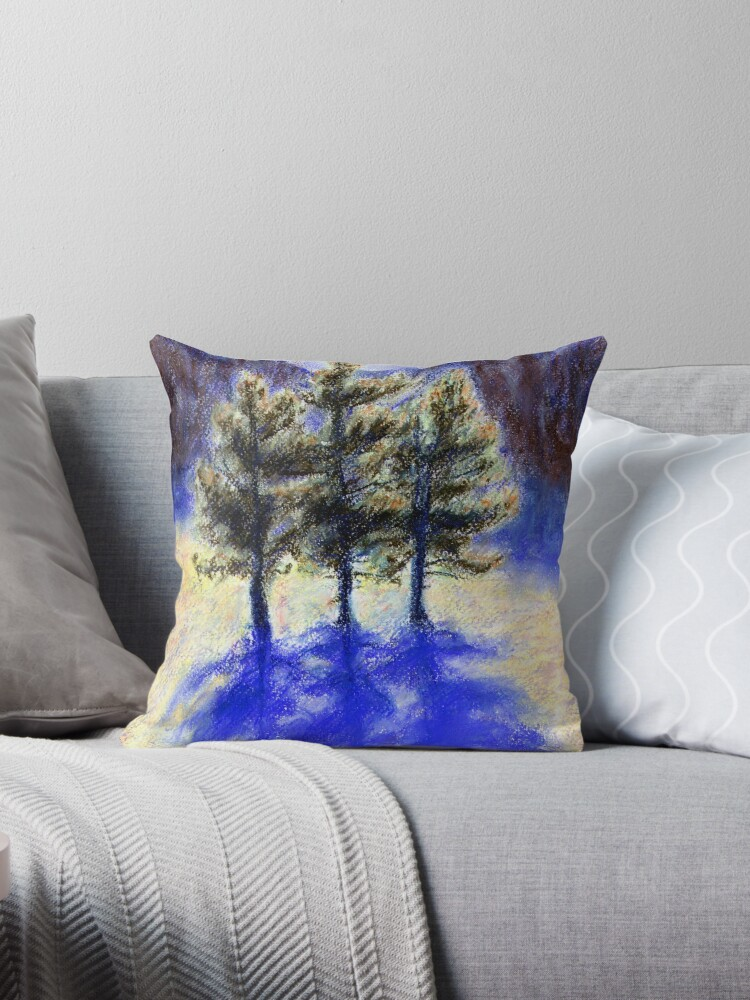 Three Pines. Snow in Virginia by Linandara